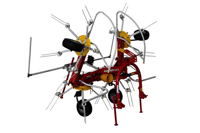 Obraceč se čtyřmi rotory | PÖTTINGER